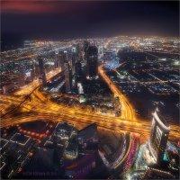 Ночной Дубай :: Виктор Перякин