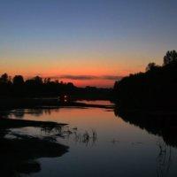 Протока, ночь. :: Павел Самарович