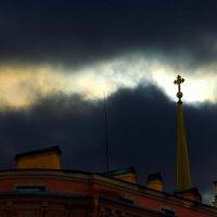 Крест в ночи :: Дмитрий Рожанский