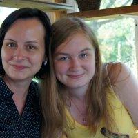 С мамочкой :: Анастасия Сергиенко