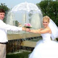 Водопад с зонта :: Саша Тропкин