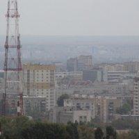 Саратов в дымке :: Сергей РоманоFF