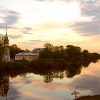 летний вечер в Вологде :: Саша Тропкин