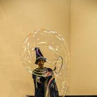 Шоу мыльных пузырей :: Филипп Дмитриев