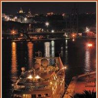 Ночной порт Валлетты :: Евгений Печенин