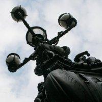 уличный фонарь... :: Сергей Румянцев