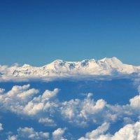 Вид на Гималаи из самолета!!! :: Александр Вивчарик