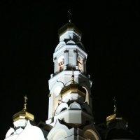 Храм Большой златоуст ночью :: Сергей Журов