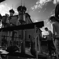 Самовары в городе Углич. :: Николай Гонтарь