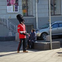 Уличная сценка :: Александр Запылёнов