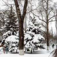 Зима в городе :: Константин Бобинский