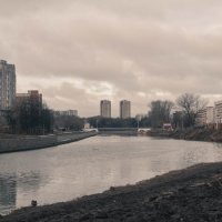 Пасмурное рабочее утро :: Дмитрий Абросимов