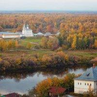 Вид на Знаменский монастырь :: Александр Никитинский