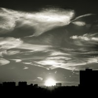 закат над Москвой :: Pasha Zhidkov
