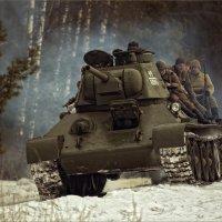 Т-34 (из серии МОТОРЫ ВОЙНЫ) :: Виктор Перякин