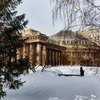 Новосибирский государственный театр оперы и балета. Самое большое театральное здание России :: Sergey Kuznetcov