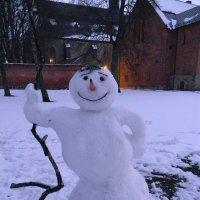 Снеговик :: ЕЛЕНКА Литвиновская