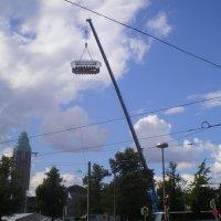 Обед в небе. Хельсинки.2012г. :: Мила