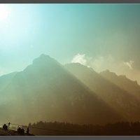 Утро в Альпах :: алексей афанасьев