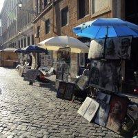 римские уличные художники :: Лидия кутузова