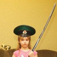 Юная защитница Родины :: Андрей Студеникин