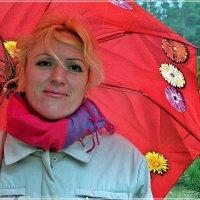Портрет с зонтом :: Валерий Викторович РОГАНОВ-АРЫССКИЙ