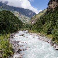 Горная река :: Альбина Ахмедьянова