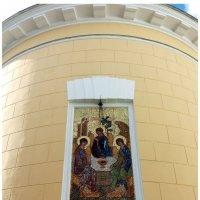 Фрагмент собора Троицы Живоначальной в Свято -Даниловом монастыре :: Владимир Прокофьев