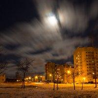 Полнолуние на большой выдержке :: Vadim Papko