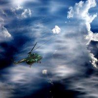 полёт в облаках :: ник. петрович земцов