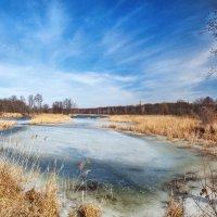 Река Усманка в марте :: Алена Бадамшина
