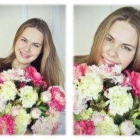 Букет в руках красавицы :: Veronikol Вайц