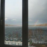 Санаторий Яктыкуль(вид на озеро Банное) :: Равиль Хакимов