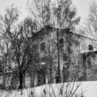 зимний пейзаж 1 :: павел бритшев