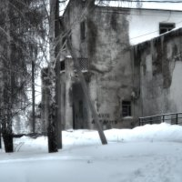 зимний пейзаж 2 :: павел бритшев