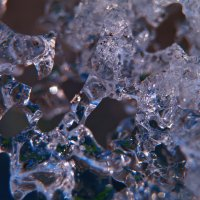 Абстракция весеннего льда-2 :: Boris Khershberg
