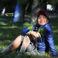 Я на солнышке сижу. :: Kassen Kussulbaev