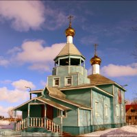 Церковь на Яграх :: Иван Клещин