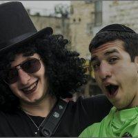 Пурим в Иерусалиме-2014-Друзья«Израиль, всё о религии...» :: Shmual Hava Retro