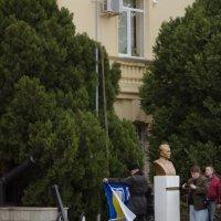 Возвращение в Россию - флаг ВМСУ спущен :: Анна Выскуб