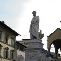 Флоренция. Памятник Данте Алегьери. :: Лидия кутузова