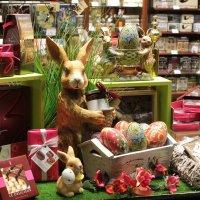 Шоколадный кролик на Пасху :: Эдуард Цветков