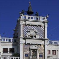 Венеция. Часовая башня на пл. Сан Марко :: Лидия кутузова