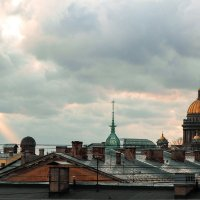 На крыше :: Annie Kuzz