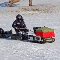 У Белого моря. Рыболовный поезд :: Владимир Шибинский