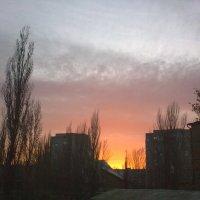 над городом закат :: Галина Pavel