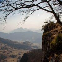 горы в дымке :: Евгений Khripp