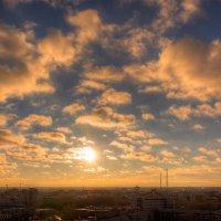 Восход солнца с высоты 55 метров. :: Игорь Нокин