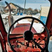 вид из кабины т-40 :: Андрей Хлопин