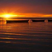 Вечер на озере Плещеево :: Андрей Иванов